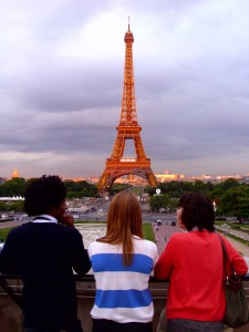 Paris 2011 with Mathias Pecastaing
